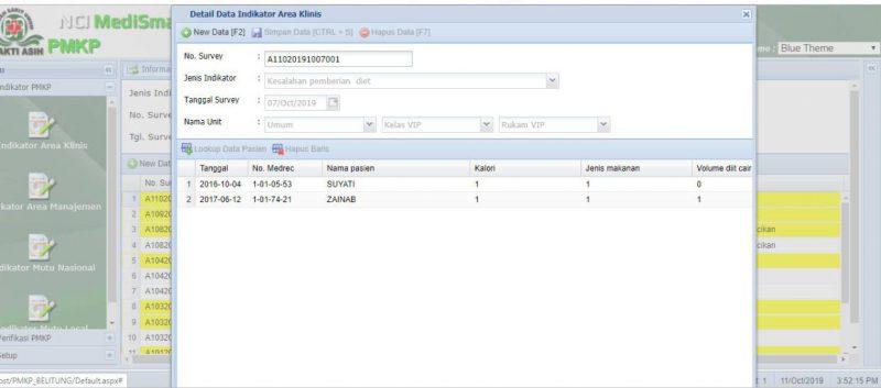 Indikator mutu, analisis data, perbandingan data antar rumah sakit, pelayanan pasien, validasi data