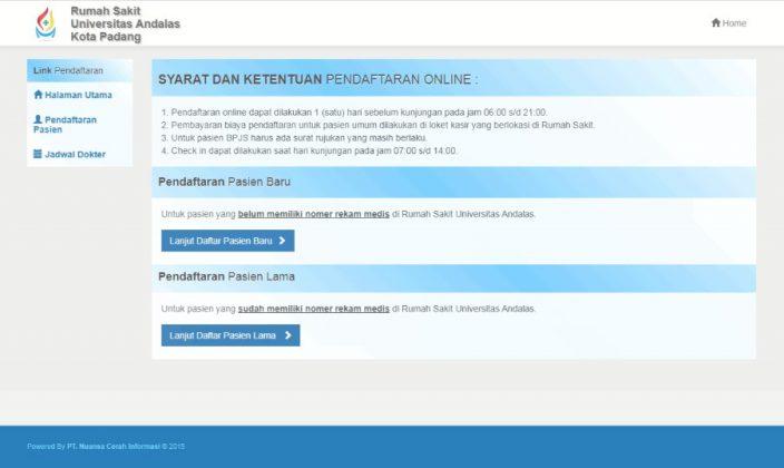 Syarat dan Ketentuan Pendaftaran Online